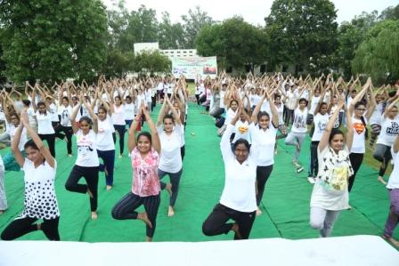 International Day of Yoga Organized on 21st June 2017