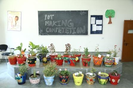 Pot Making Competition