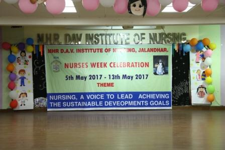 Nurses Week Celebration on 5th May to 13th May 2017