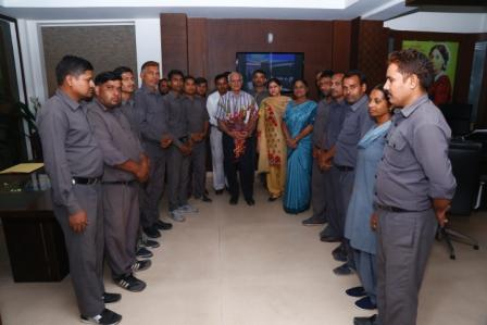Vice President With Principal Mam & Non Teaching Staff